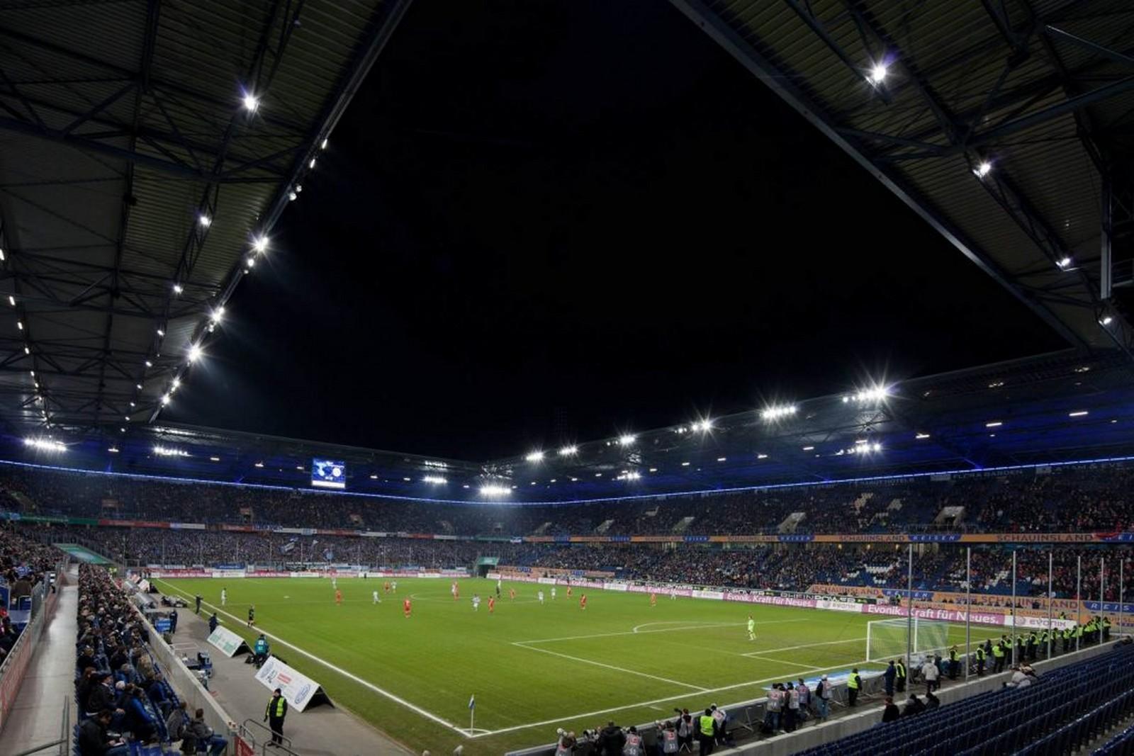 Stadion in Duisburg
