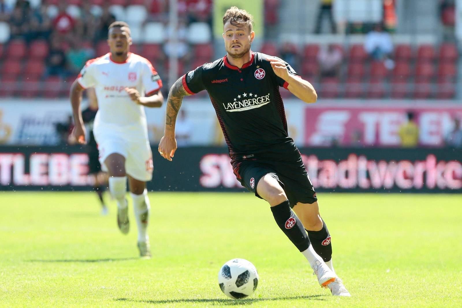 Trifft Timmy Thiele gegen Ex-Klub FCC? Jetzt auf Jena gegen Kaiserslautern wetten.