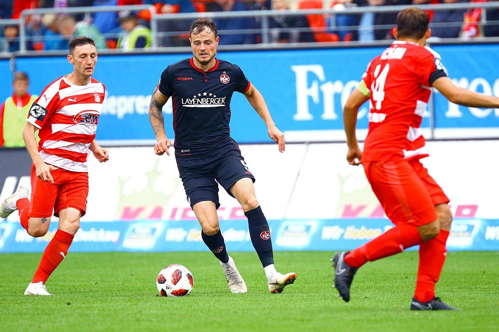 Will sein Torekonto gegen Fortuna Köln erhöhen: Timmy Thiele (m.).