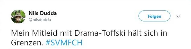 Tweet zu SV Meppen vs Hansa Rostock