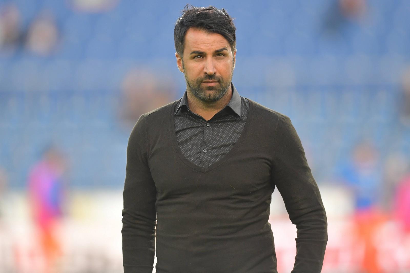 Ismail Atalan bei einem Spiel vom VfL Bochum