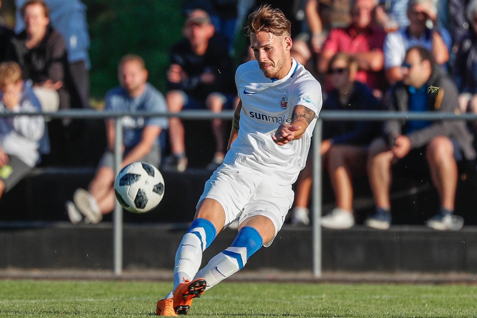 Jonas Hildebrandt vom FC Hansa Rostock