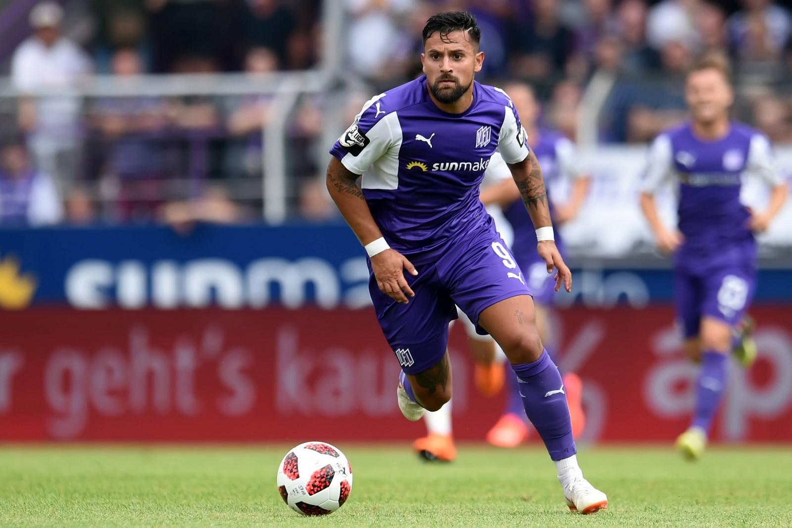 Mit sieben Treffern ist Marcos Álvarez der erfolgreichste Angreifer des VfL Osnabrück.