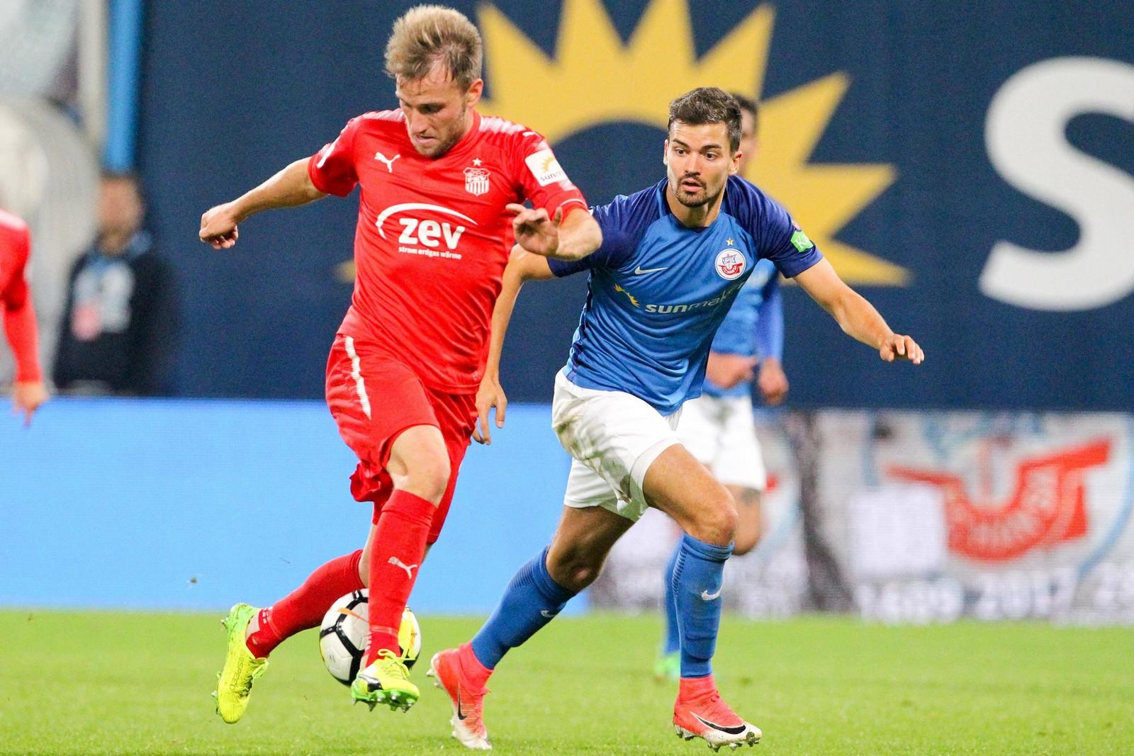 Findet Mike Könnecke gegen Hansa wieder den Weg zum TOr? Jetzt auf Zwickau gegen Rostock wetten!