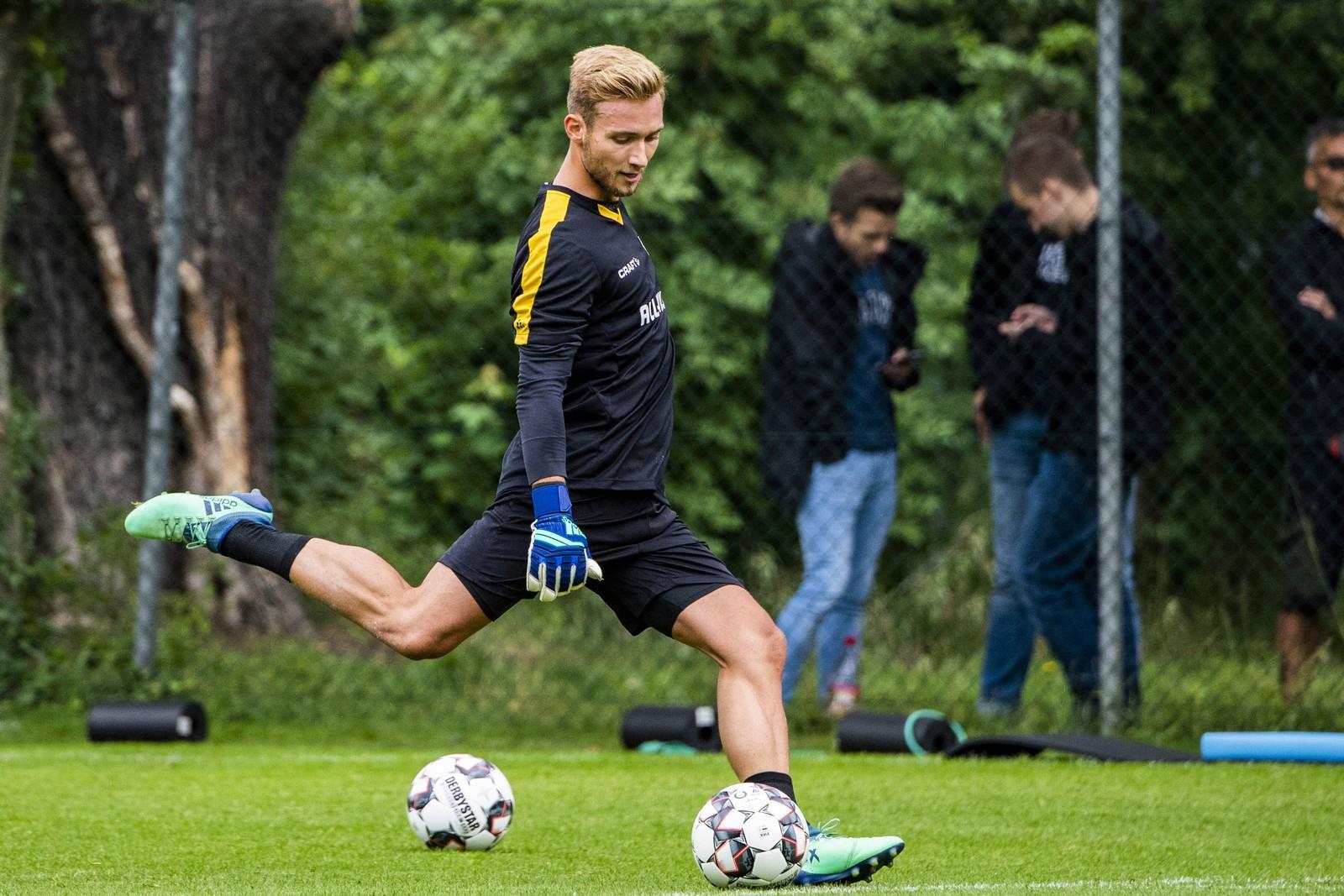 Tim Boss im Training.