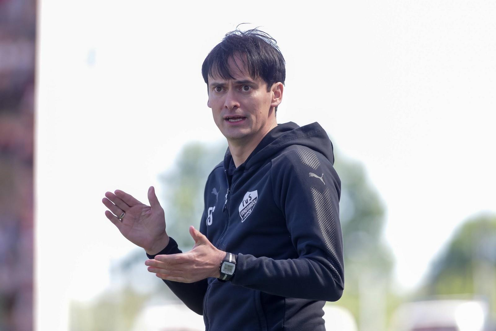 Florian Schnorrenberg soll Großaspach aus dem Tabellenkeller holen.
