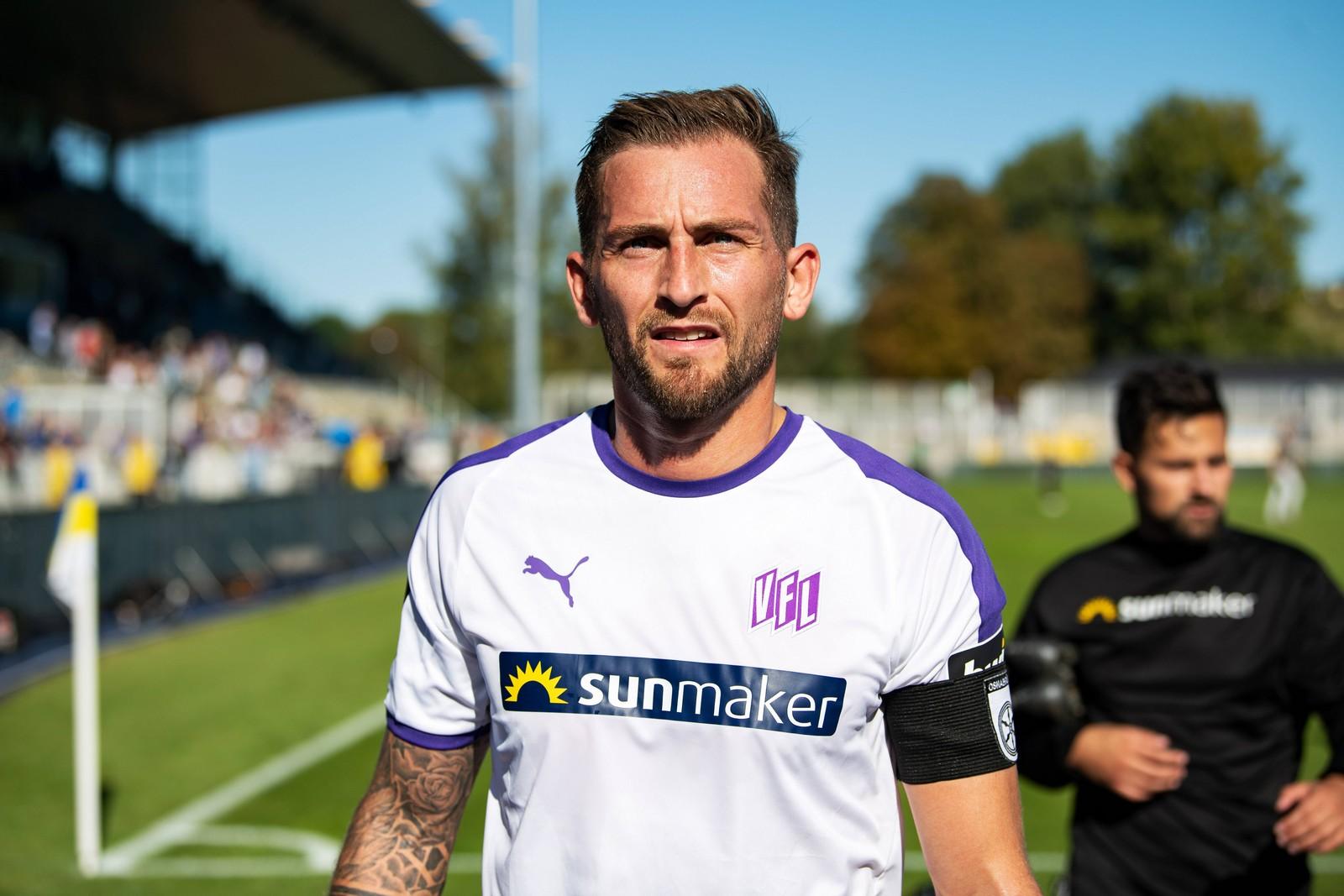 Der VfL Osnabrück bangt um seinen Kapitän Marc Heider.