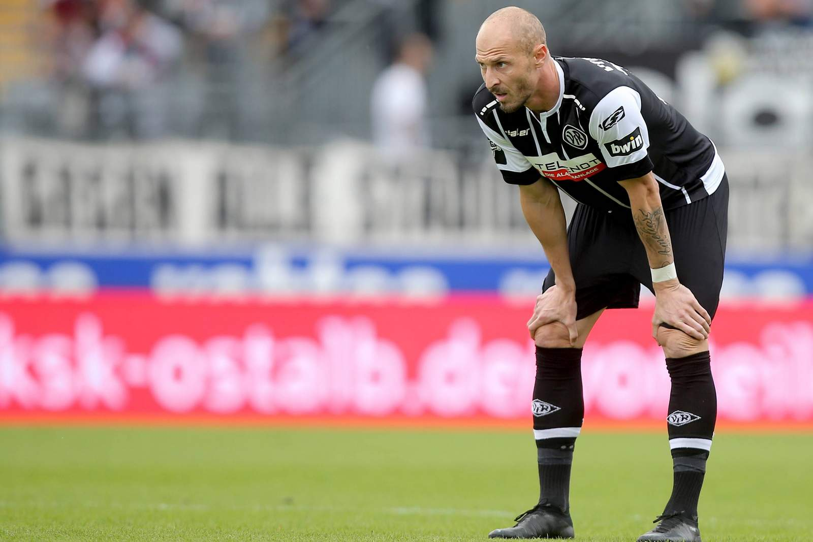 Matthias Morys nach dem Spiel Aalen gegen Fortuna Köln