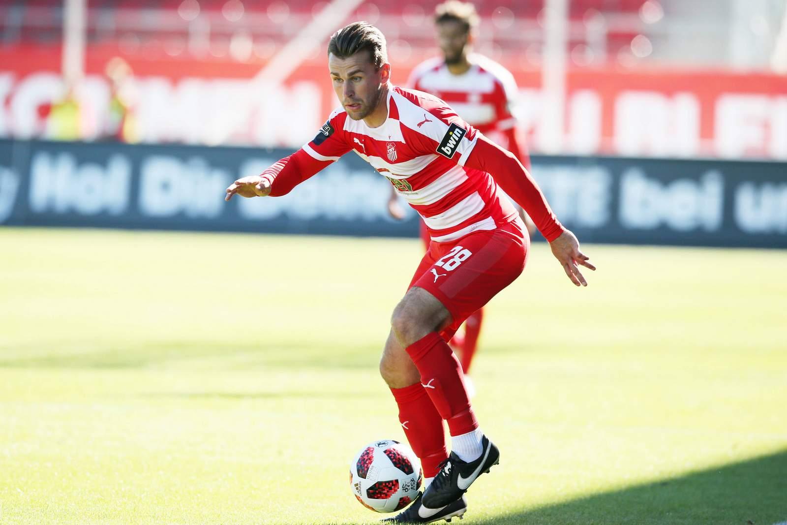 Nils Miatke kann erst einmal nicht mehr für den FSV Zwickau gegen den Ball treten.