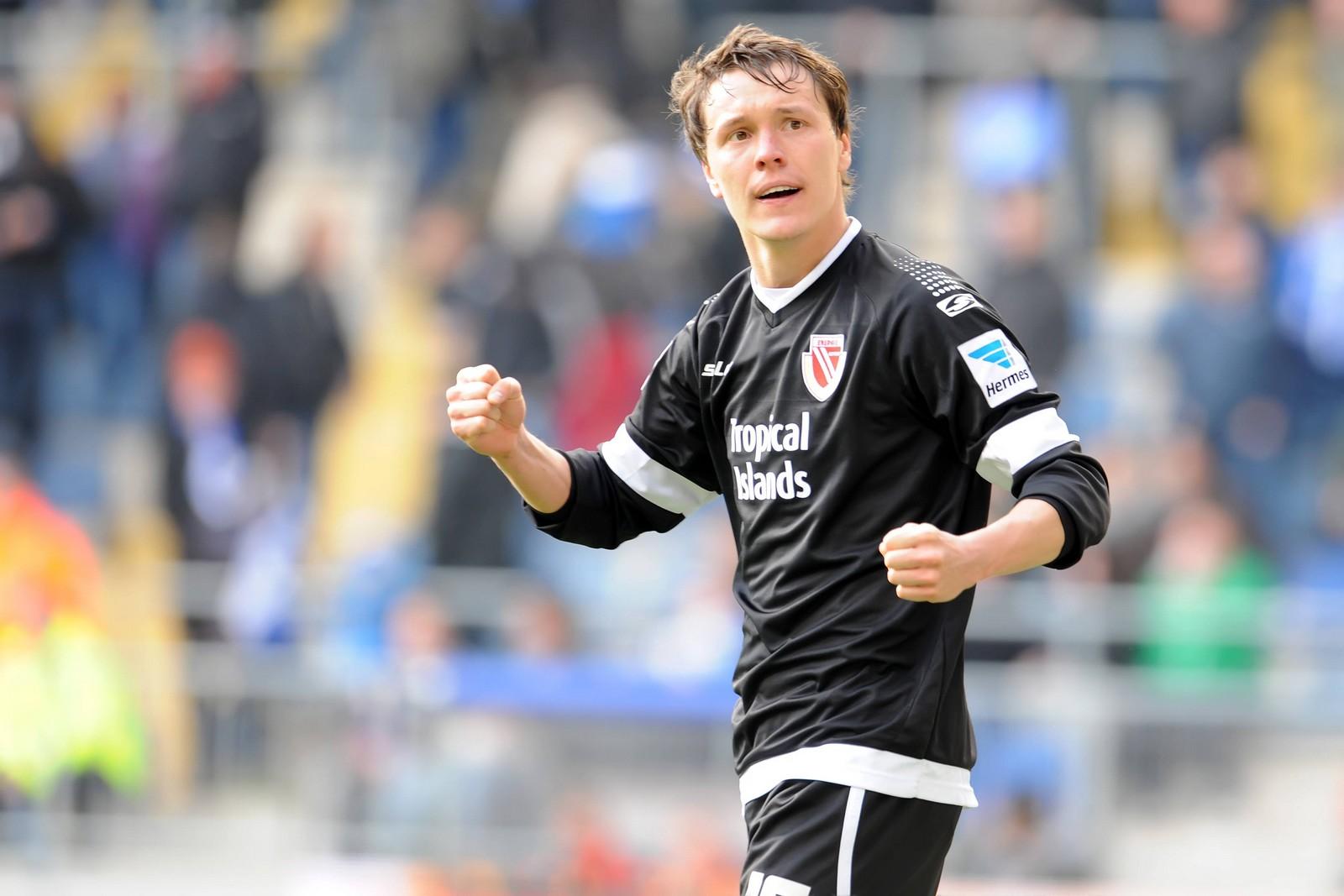 Alexander Bittroff in seiner Zeit beim FC Energie Cottbus