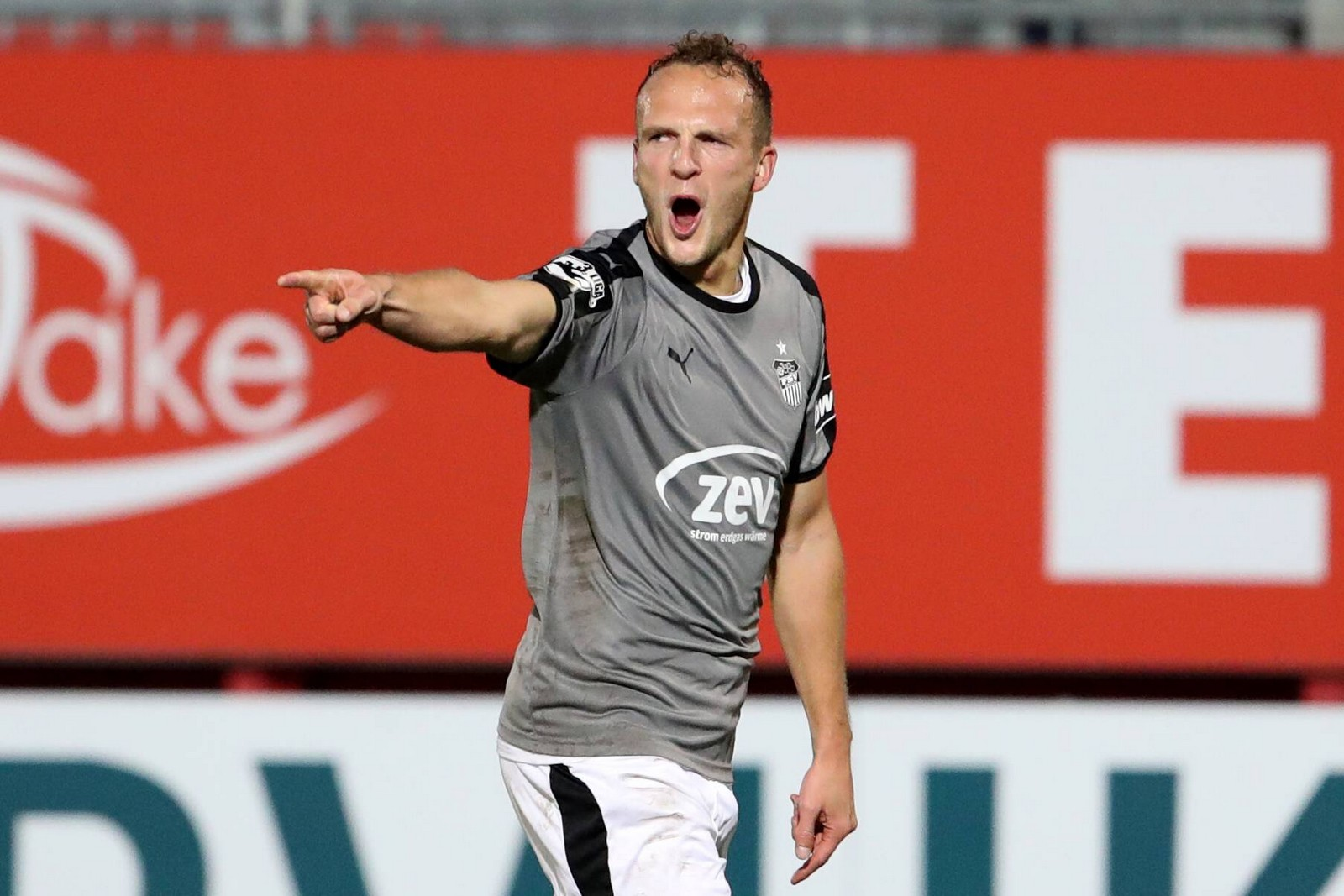 Julius Reinhardt vom FSV Zwickau