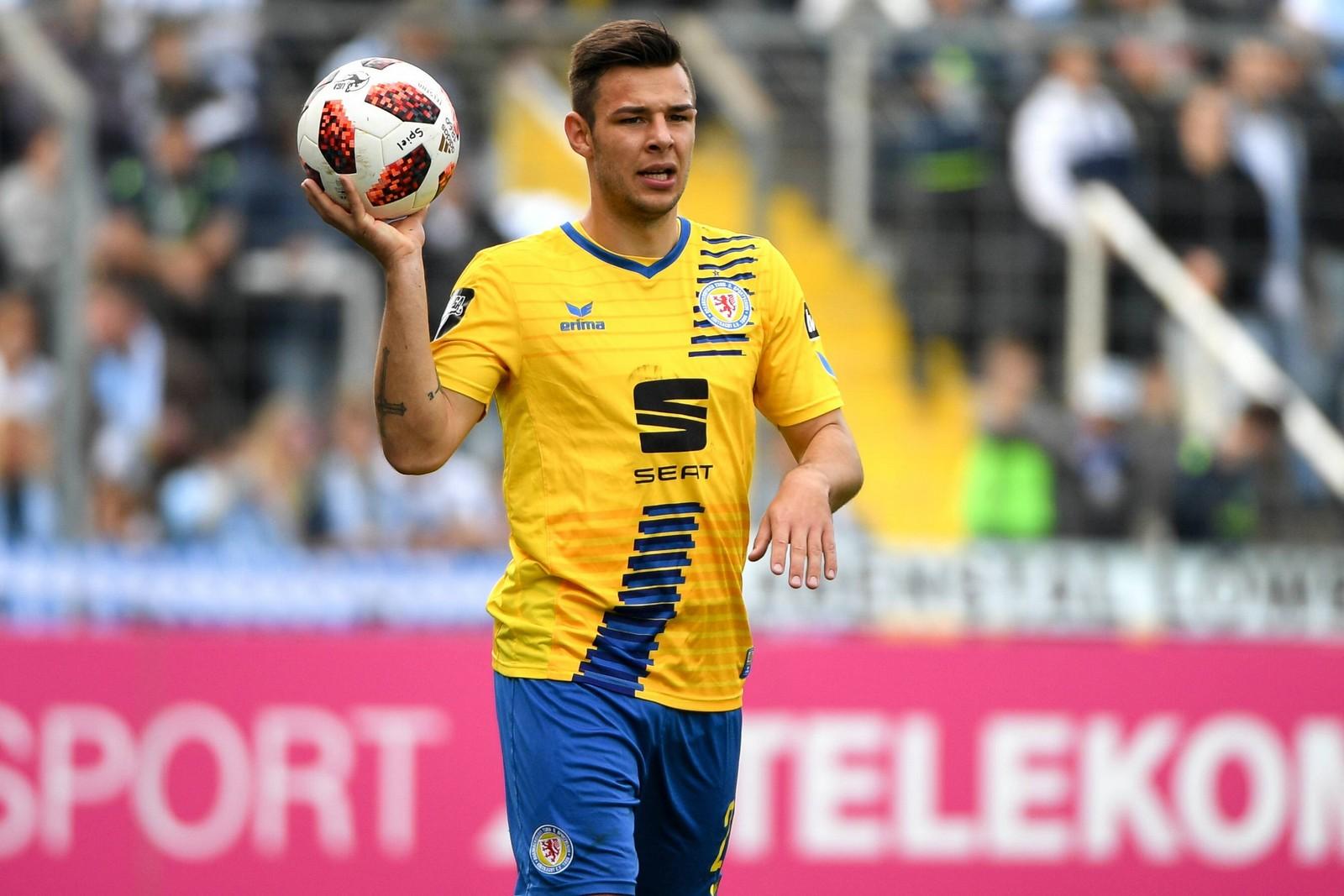 Nico Kijeski von Eintracht Braunschweig