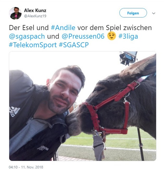 Tweet zu Großaspach gegen Münster