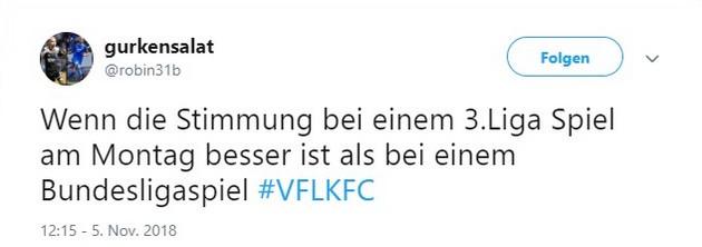 Tweet Osnabrück gegen Uerdingen