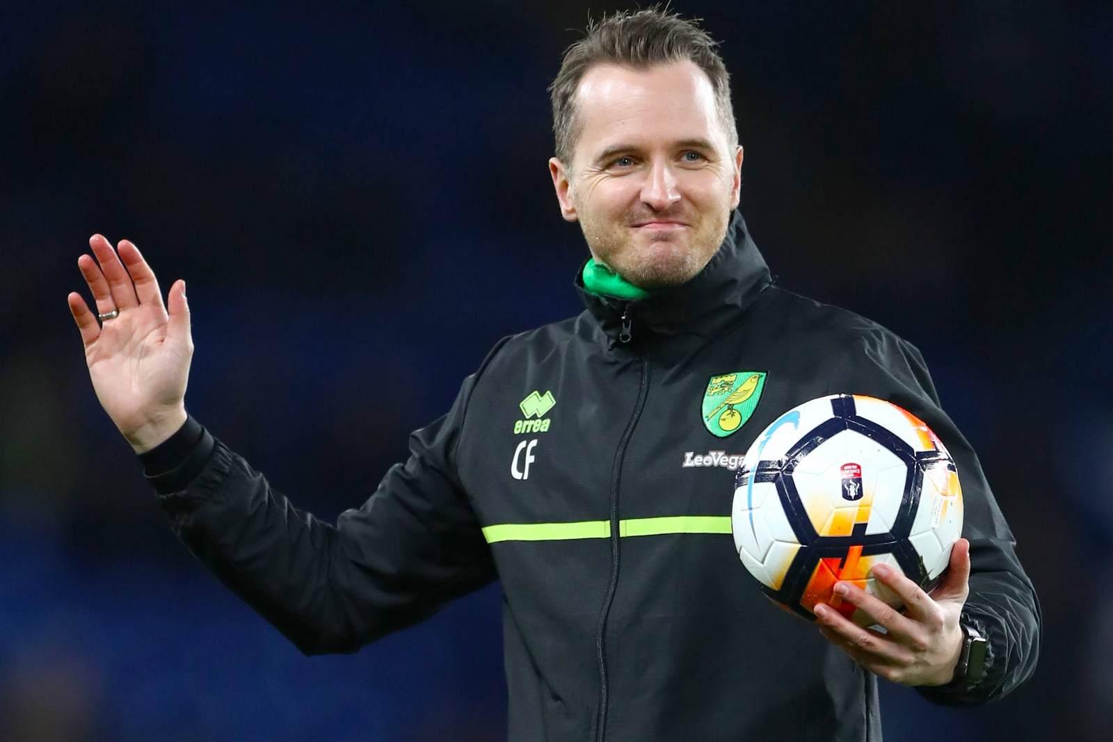 Christian Flüthmann arbeitet für Norwich City