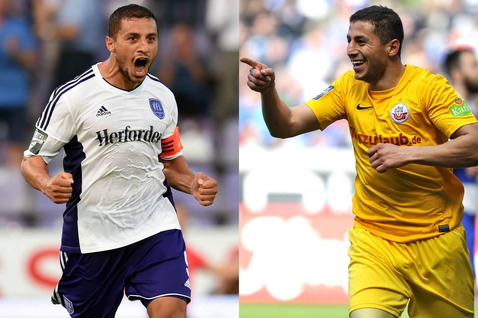 Halil Savran jubel für den VfL Osnabrück und für Hansa Rostock