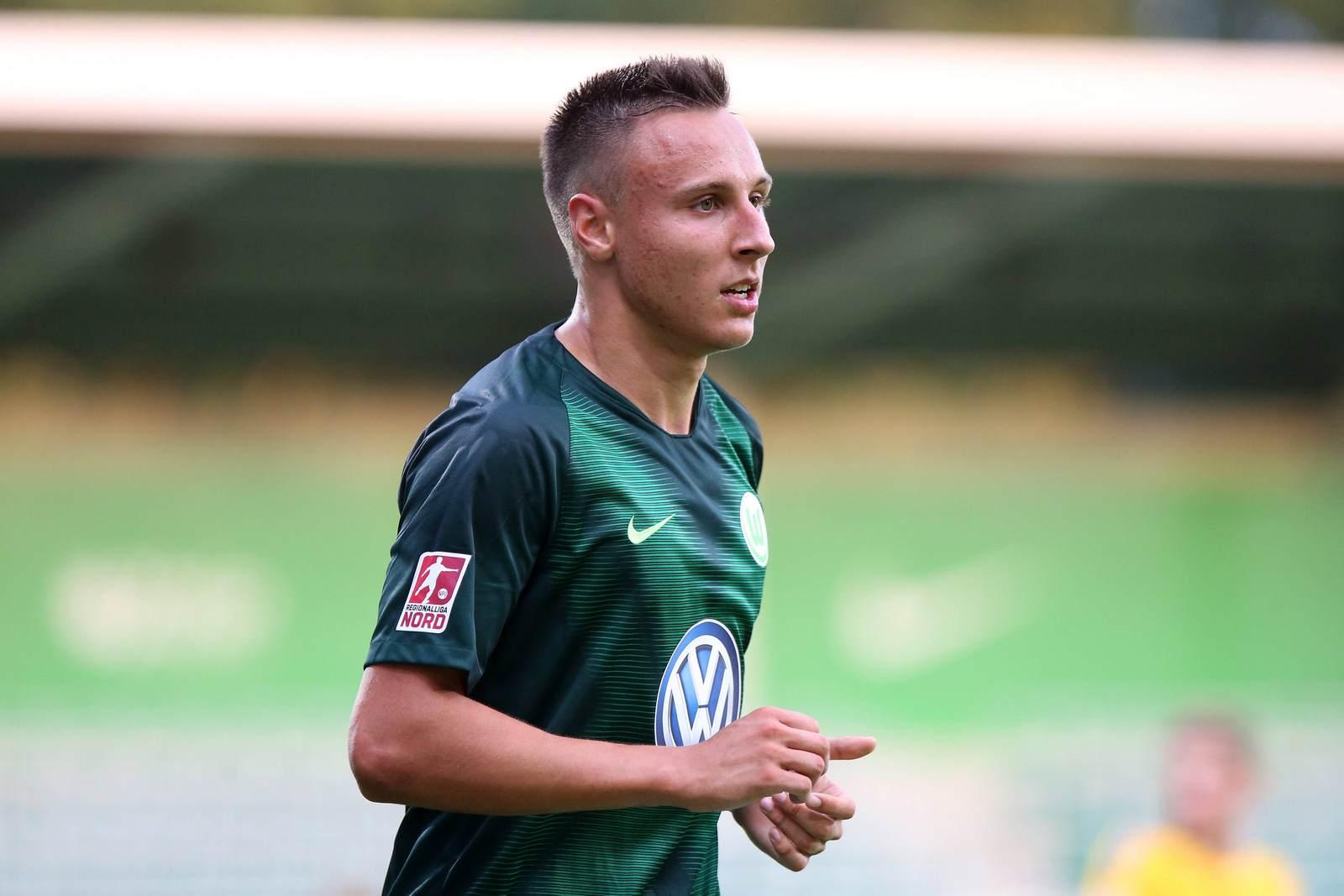 Dominik Franke läuft für den VfL Wolfsburg auf