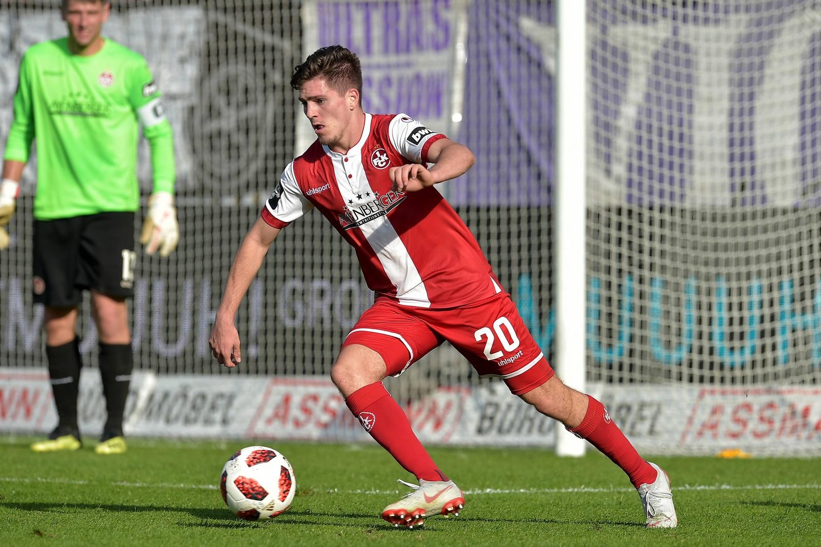 Dominik Schad könnte gegen Wehen Wiesbaden erneut Florian Dick aus der Viererkette verdrängen.