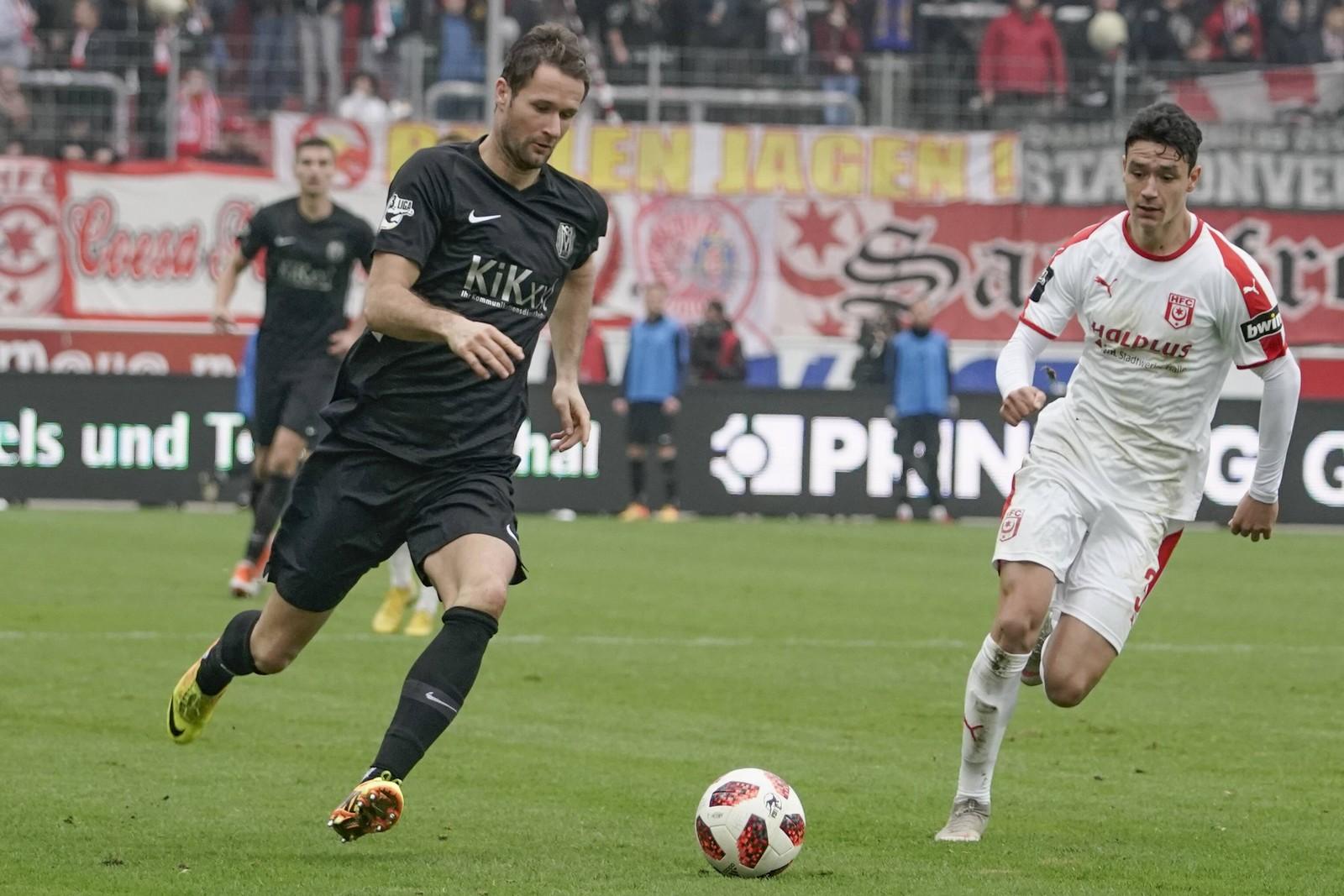 In vier Spielen erzielte Nick Proschwitz bereits drei Treffer für den SVM.