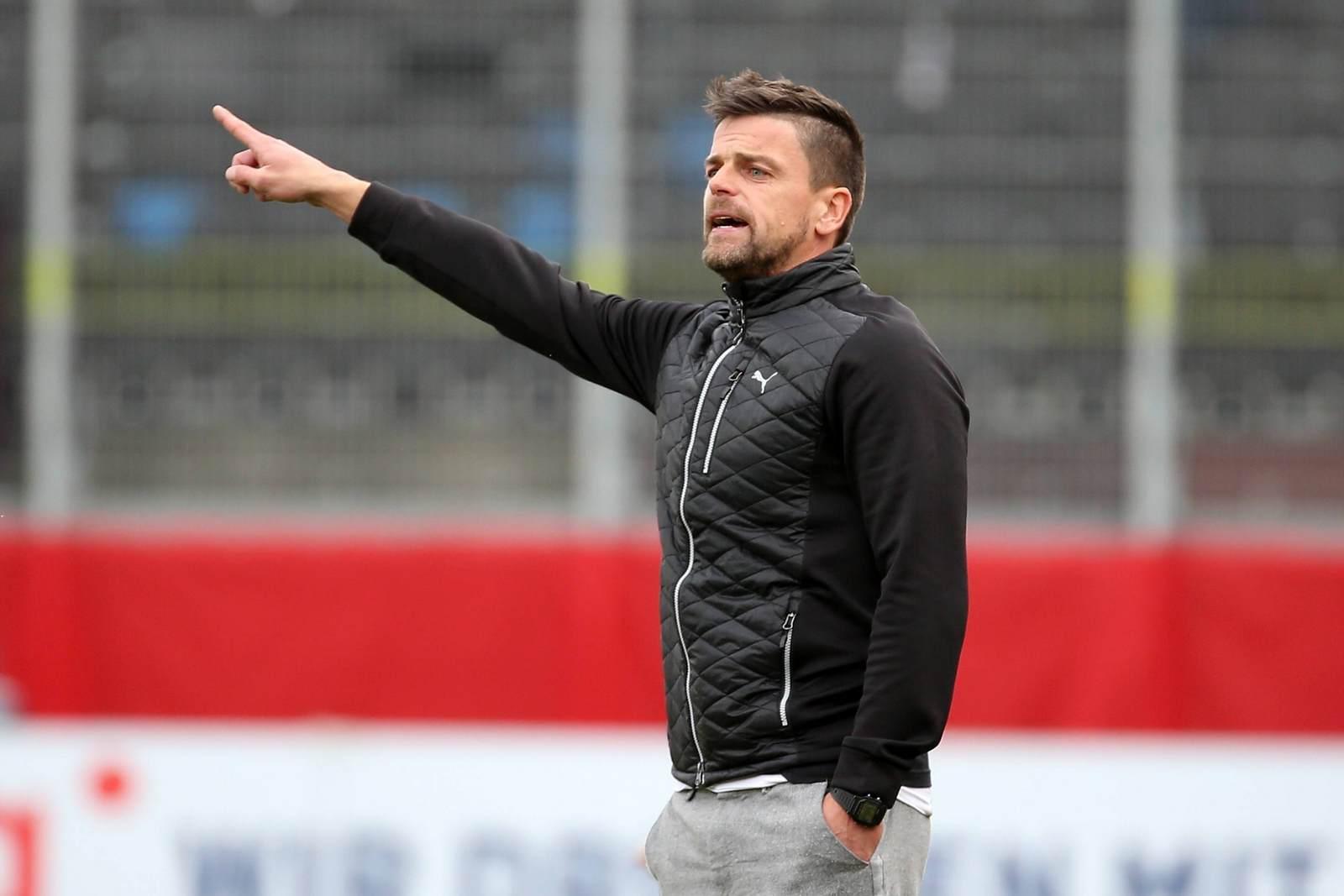 Torsten Ziegner vom Halleschen FC