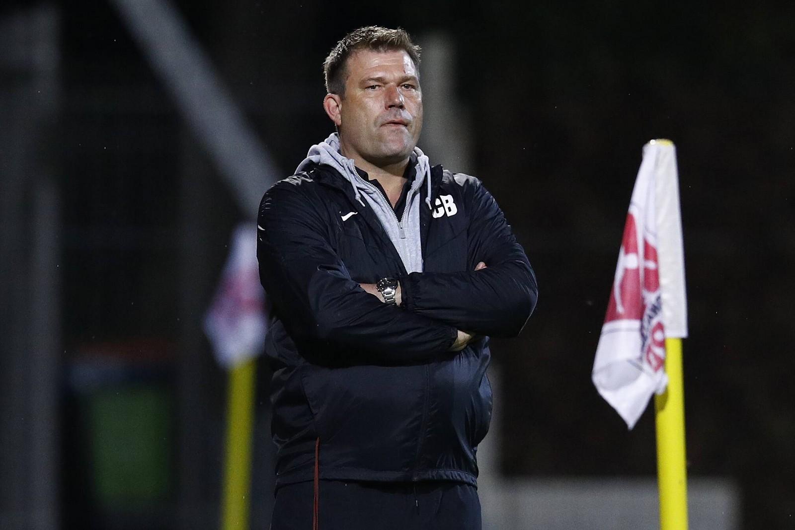 Christian Benbennek als Trainer beim TSV Havelse