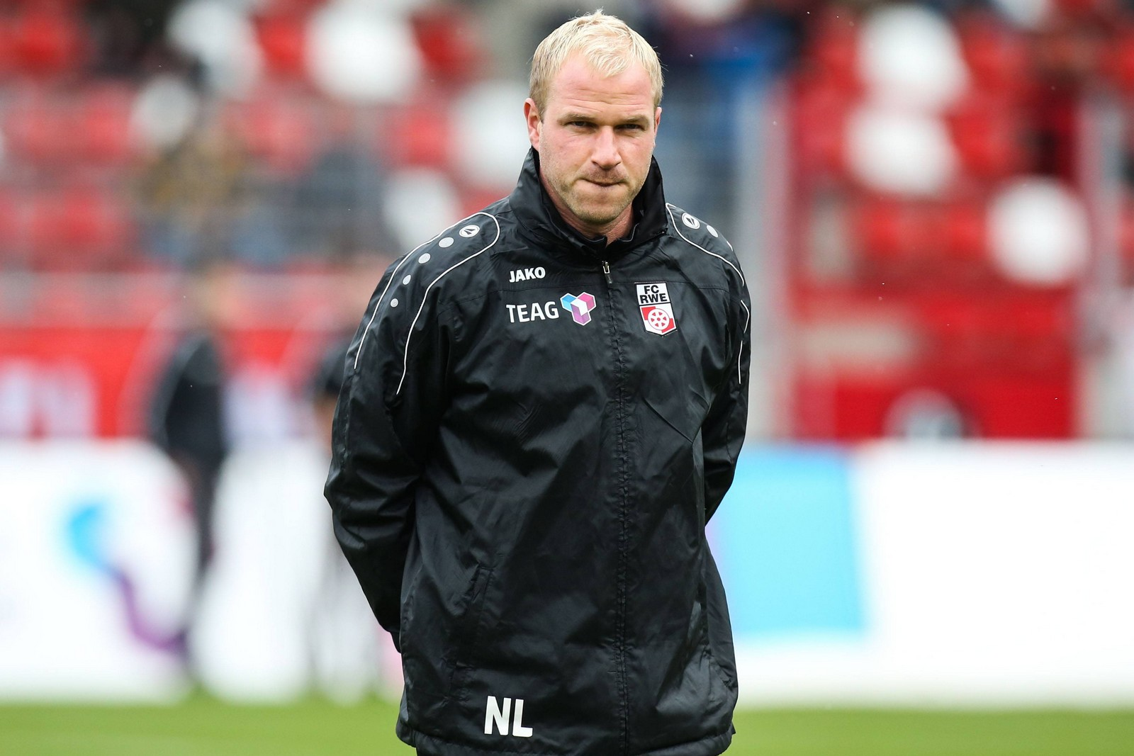 Norman Loose als Co-Trainer bei Rot-Weiß Erfurt
