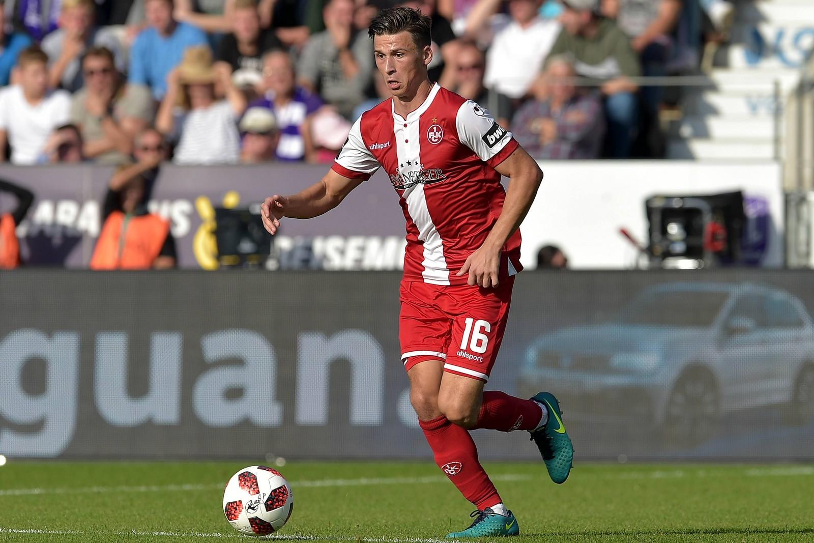 Theo Bergmann vom 1. FC Kaiserslautern