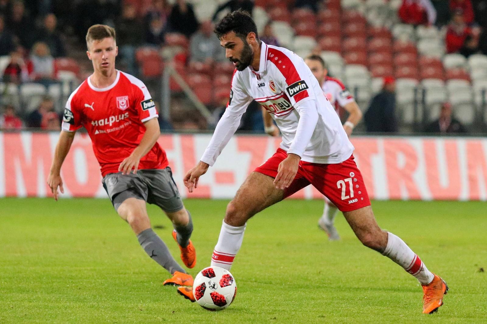 Bislang wurde Abdulkadir Beyazit erst in fünf Partien eingewechselt.