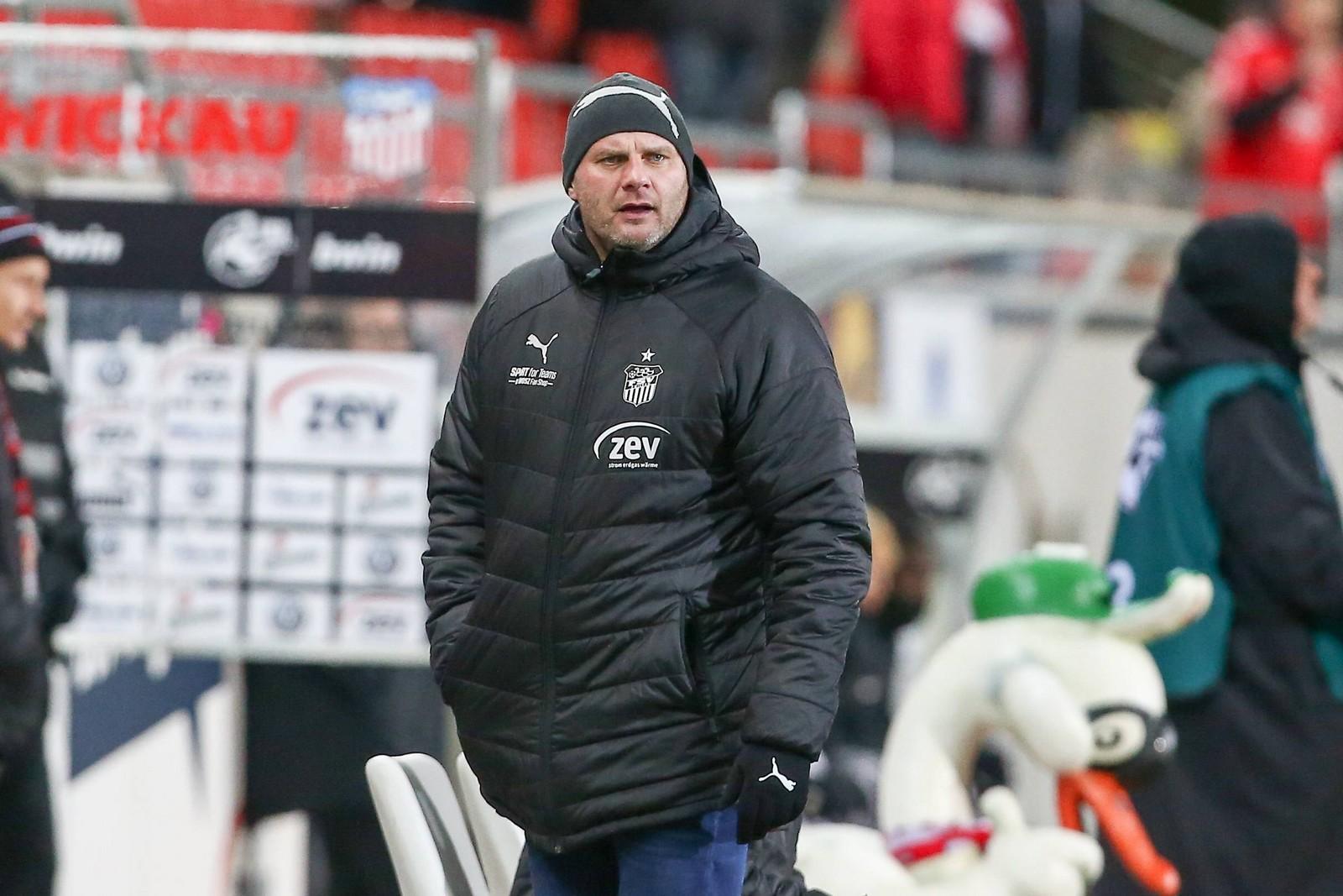 David Wagner ist seit 2009 für den FSV Zwickau tätig.