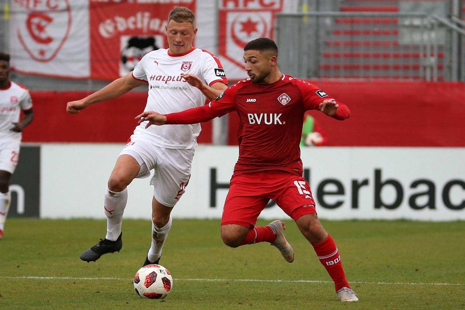 Enes Küc absolvierte für Würzburg bislang sieben Partien in der 3. Liga.