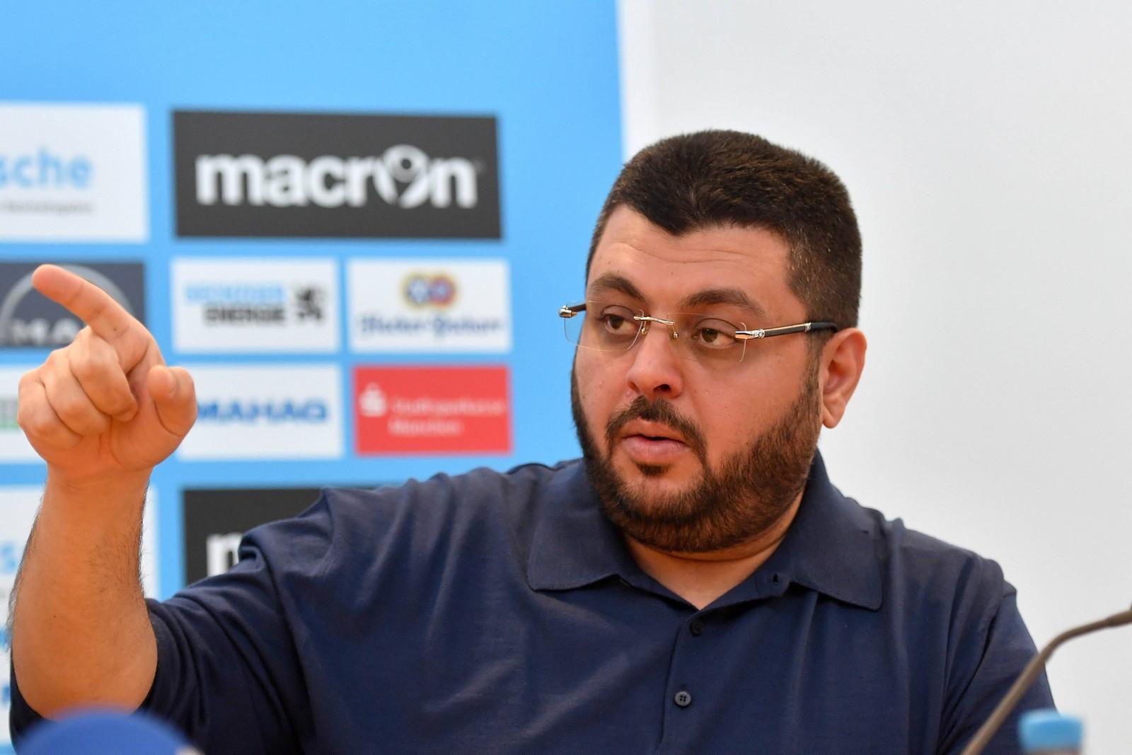 Hasan Ismaik beim TSV 1860 München