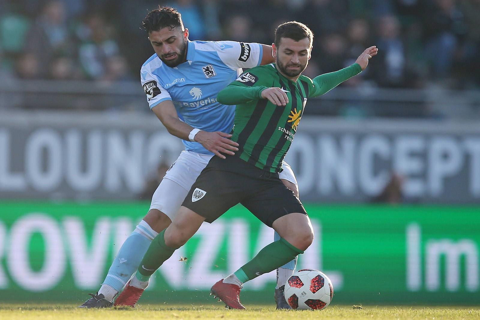 Preußen Münster kann gegen den KSC wohl auf Kevin Rodrigues Pires zurückgreifen.