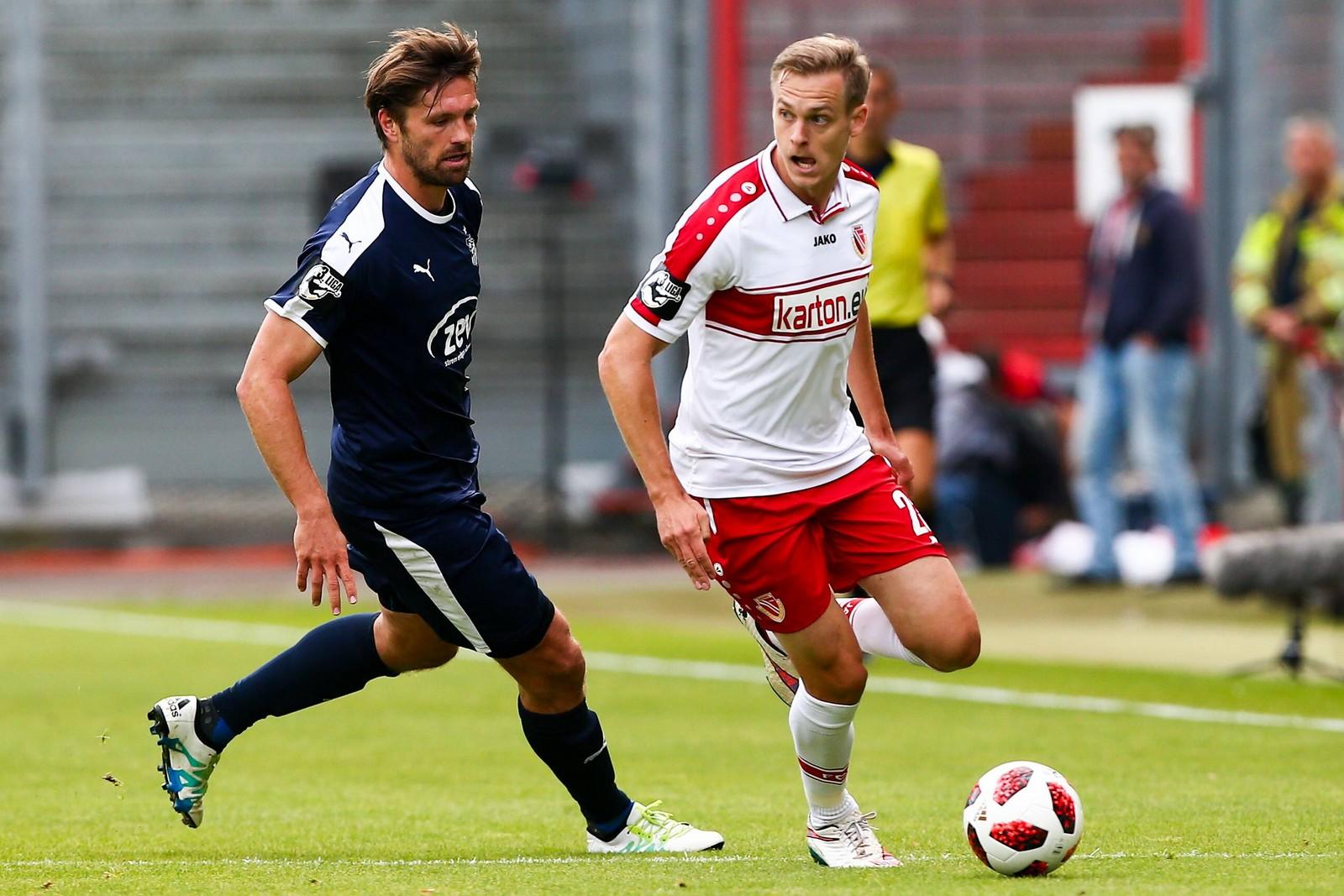 Lars Bender absolvierte bisher drei Partien für Energie Cottbus.