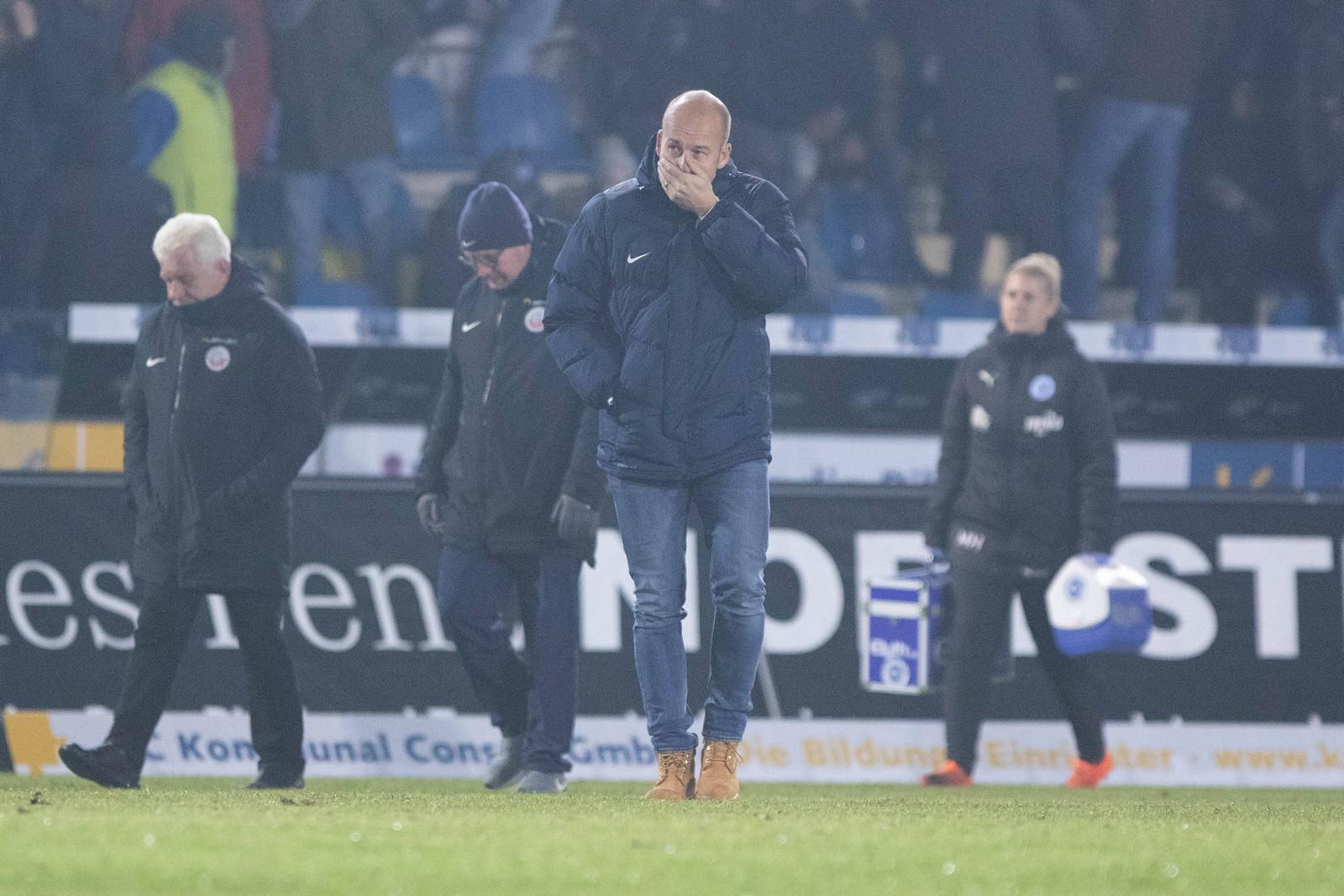 Hansas Sportvorstand Markus Thiele gab im Sommer den Aufstieg als Ziel aus.