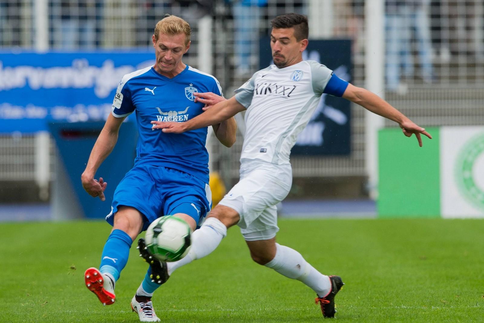 Können Martin Wagner und der SV Meppen in Jena punkten.