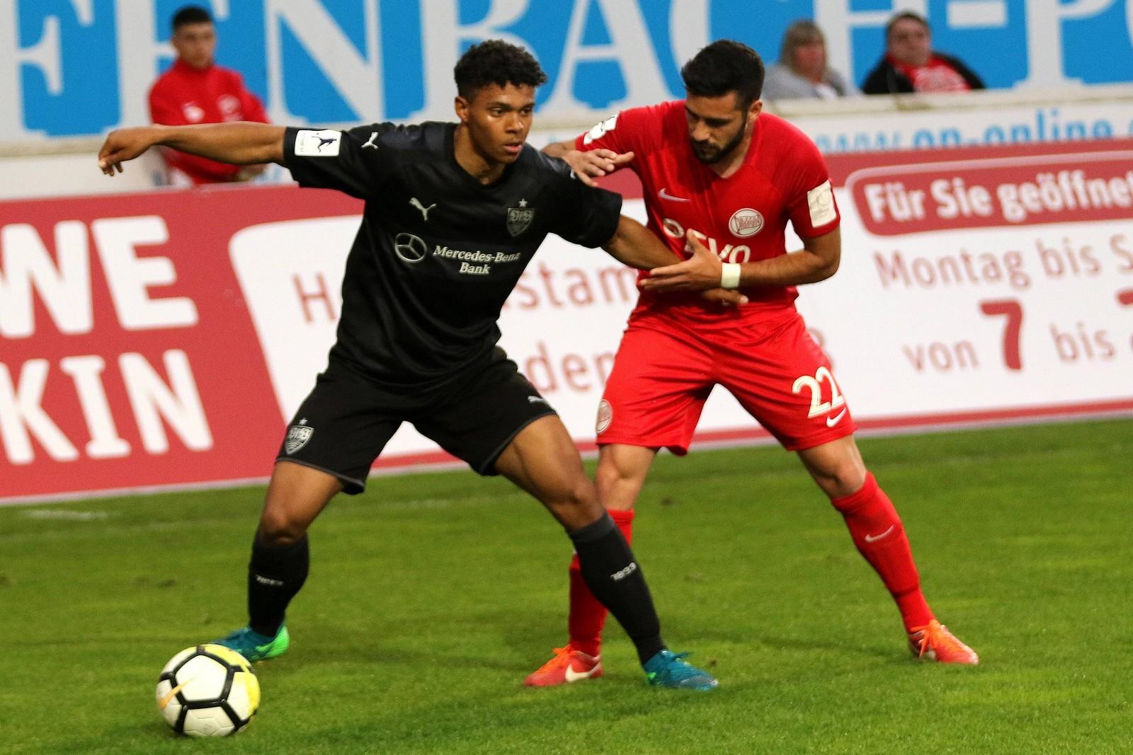 Niklas Sommer verteidigte in 34 Regionalliga-Spielen für die zweite Mannschaft des VfB Stuttgart.