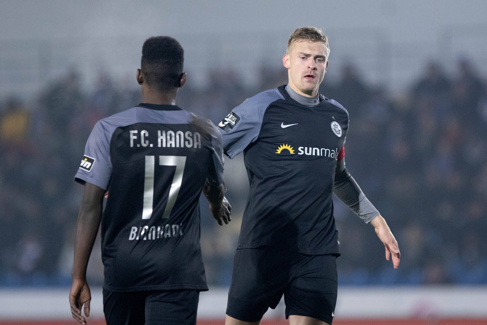 Kapitän Oliver Hüsing rettete Rostock einen Punkt gegen den VfL Osnabrück.