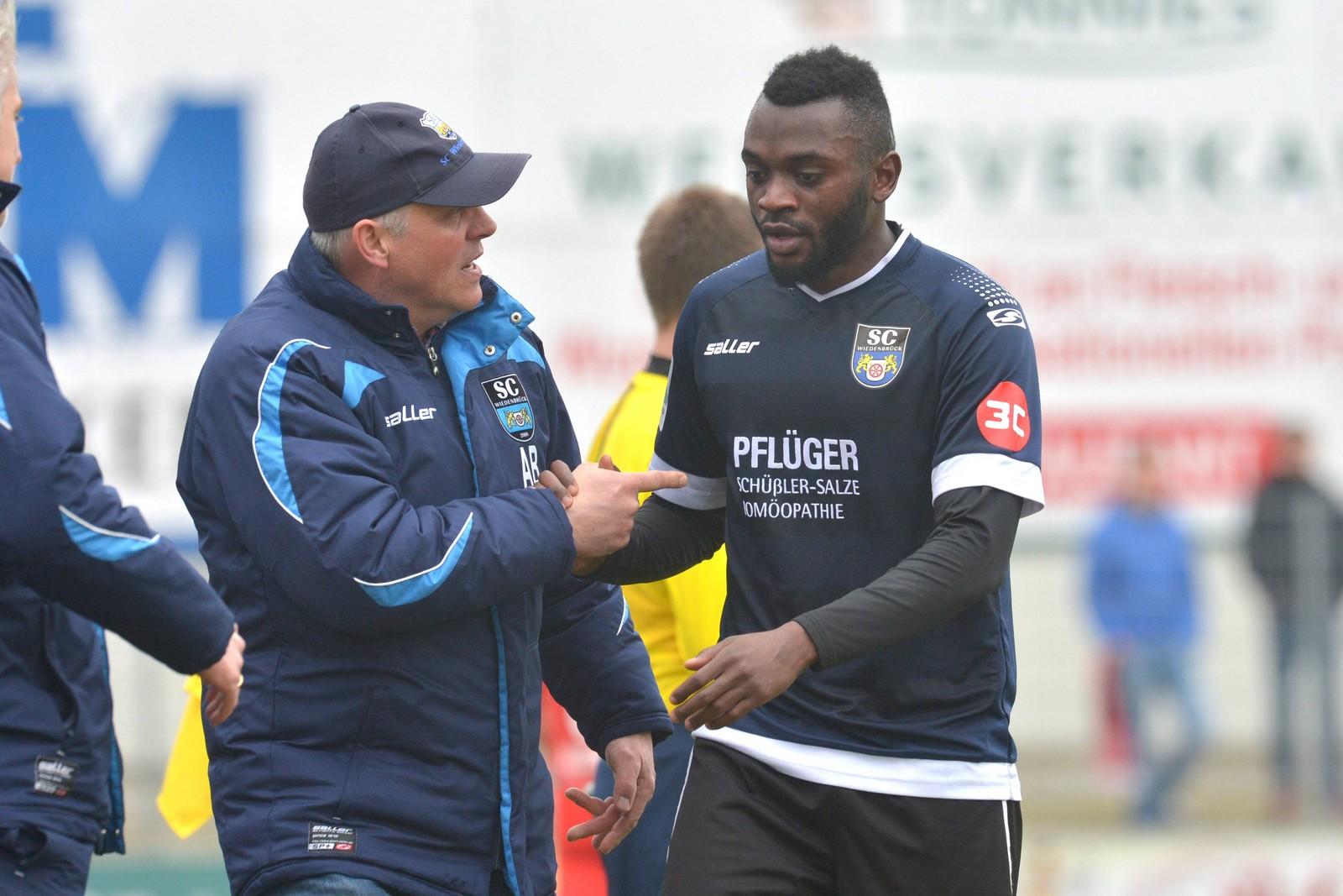 In 66 Einsätzen für Wiederbrück erzielte Paterson Chato acht Tore und bereitete zwei weitere vor.
