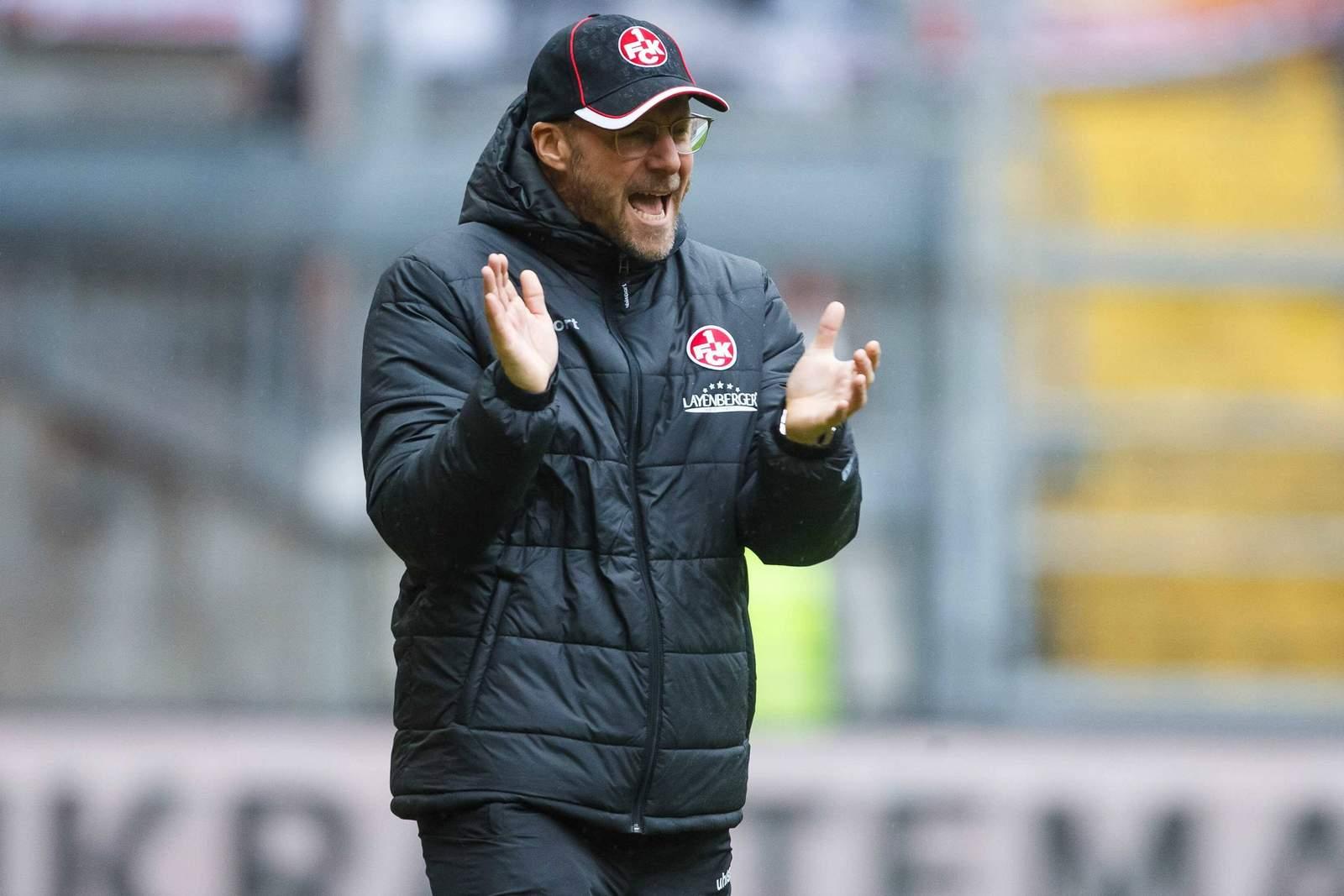 Sascha Hildmann feuert den 1.FC Kaiserslautern an