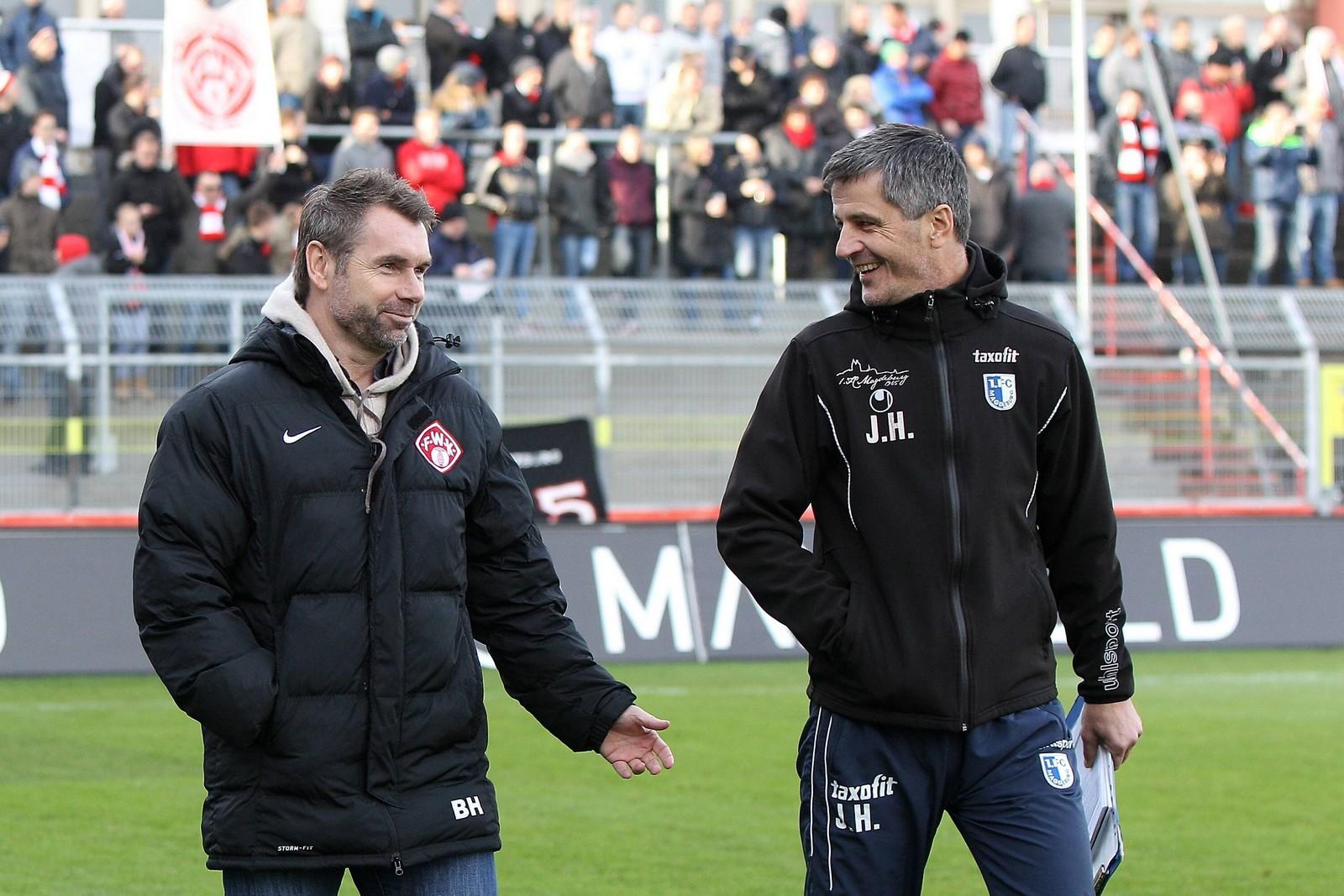 Jens Härtel und Bernd Hollerbach im Gespräch