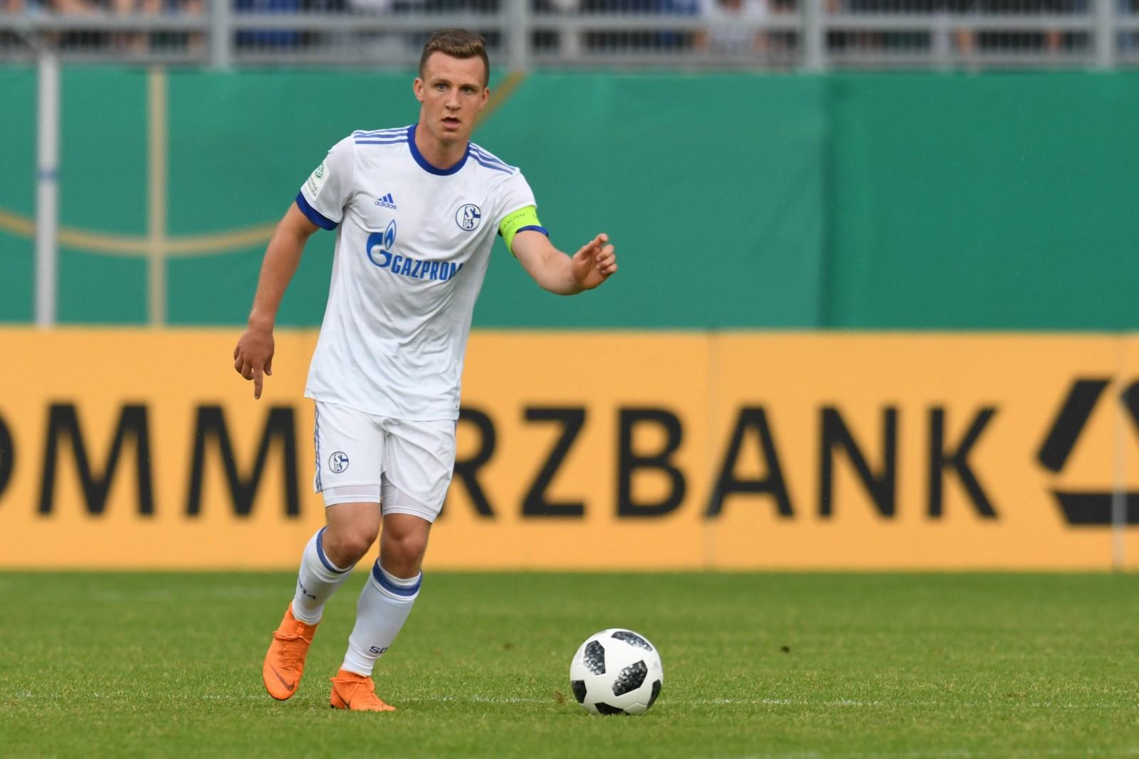 Jannis Kübler bei Schalke 04