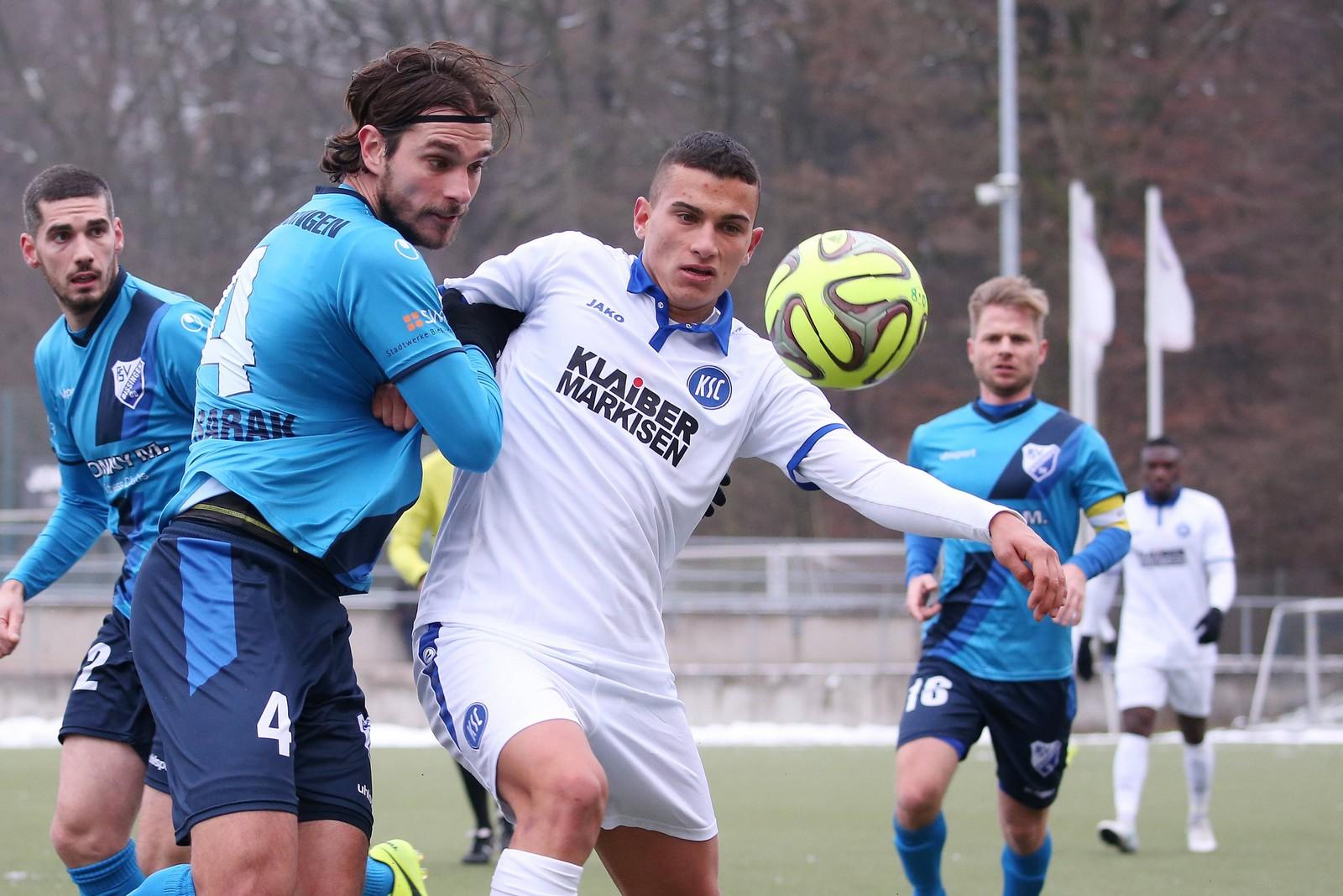 Valentino Vujinovic vom Karlsruher SC