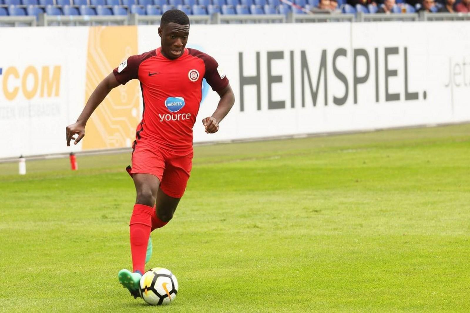 Agyemang Diawusie vom SV Wehen Wiesbaden