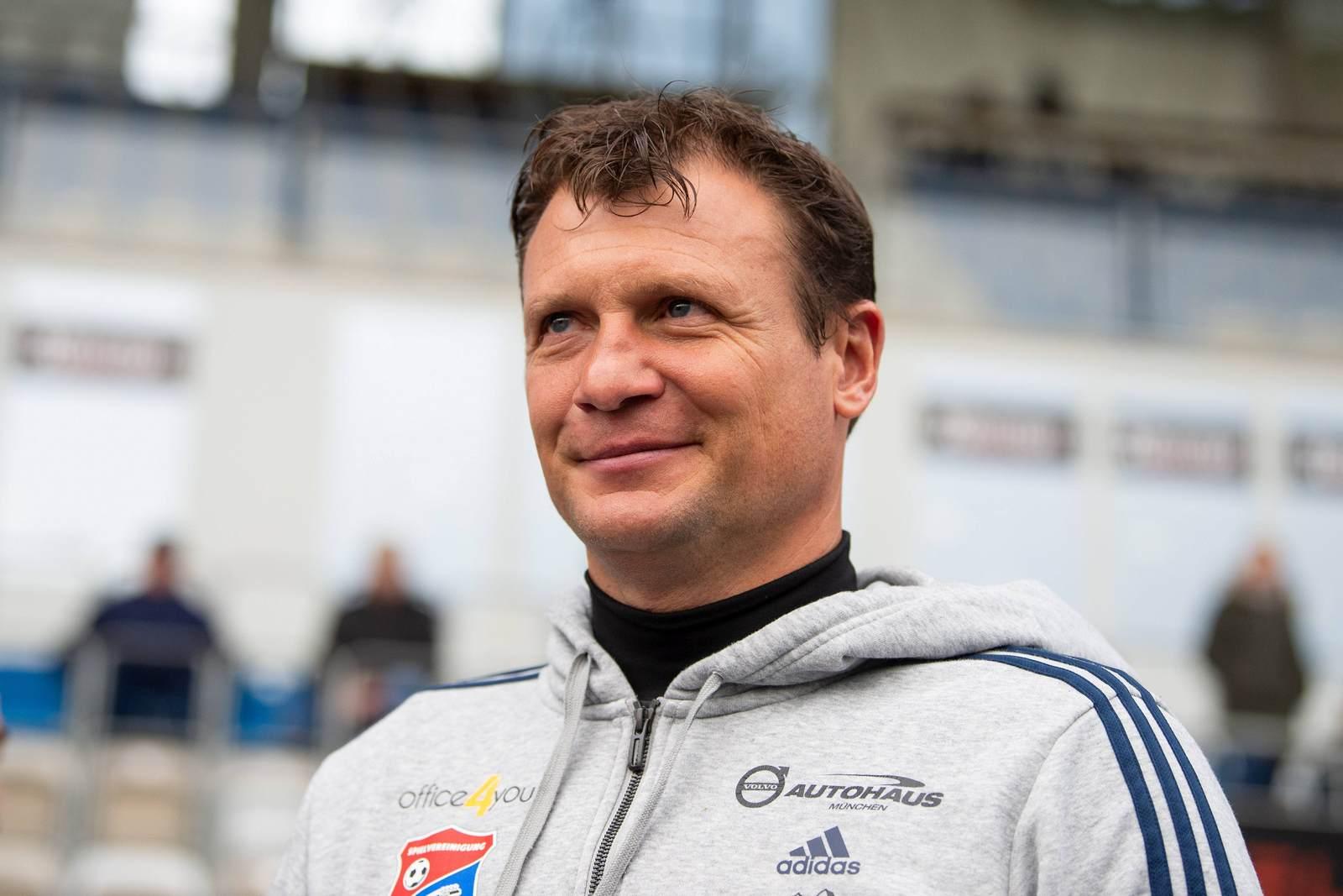 Claus Schromm von der SpVgg Unterhaching