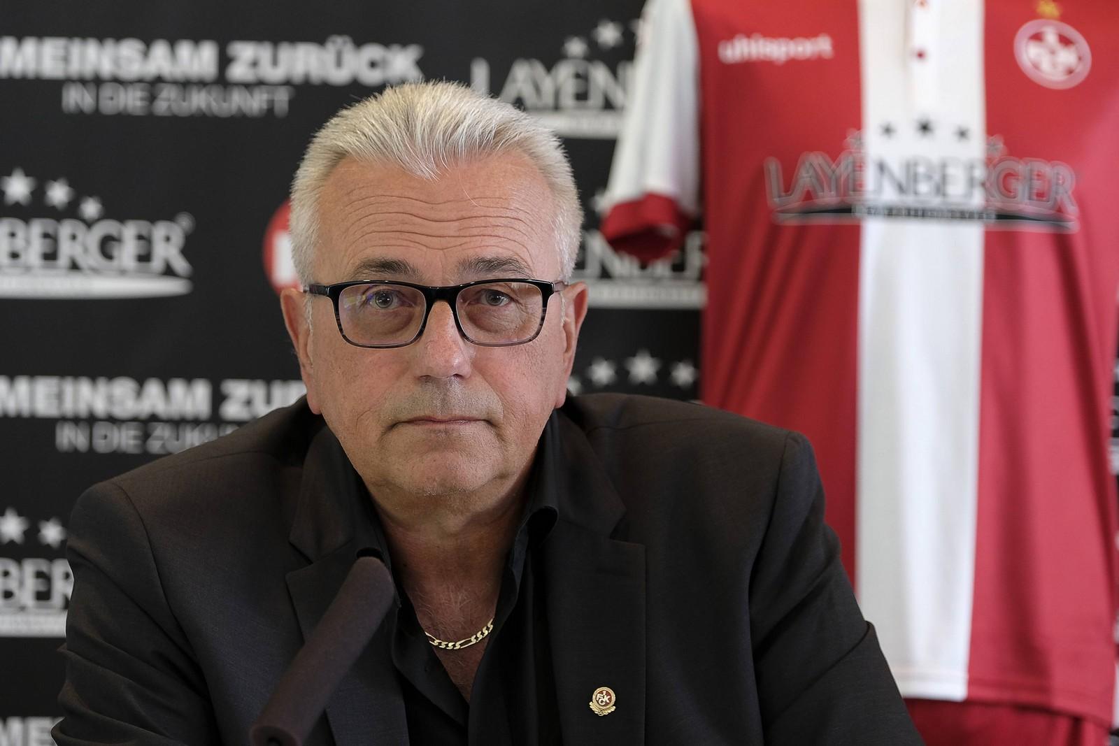 Harald Layenberger ist Sponsor des FCK