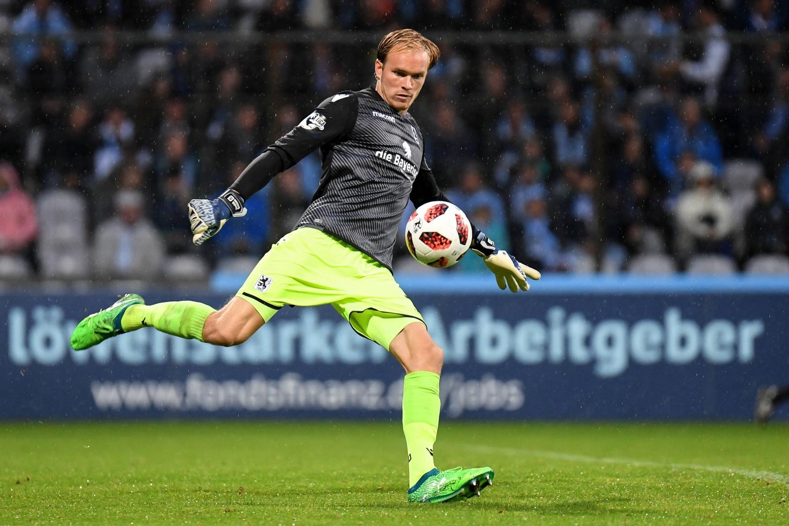 Hendrik Bonmann im Spiel gegen Cottbus.