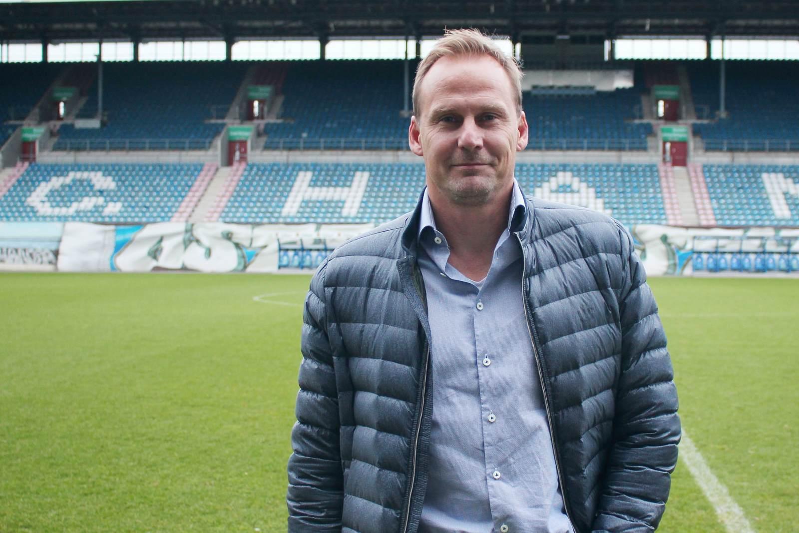 Martin Pieckenhagen im Ostseestadion