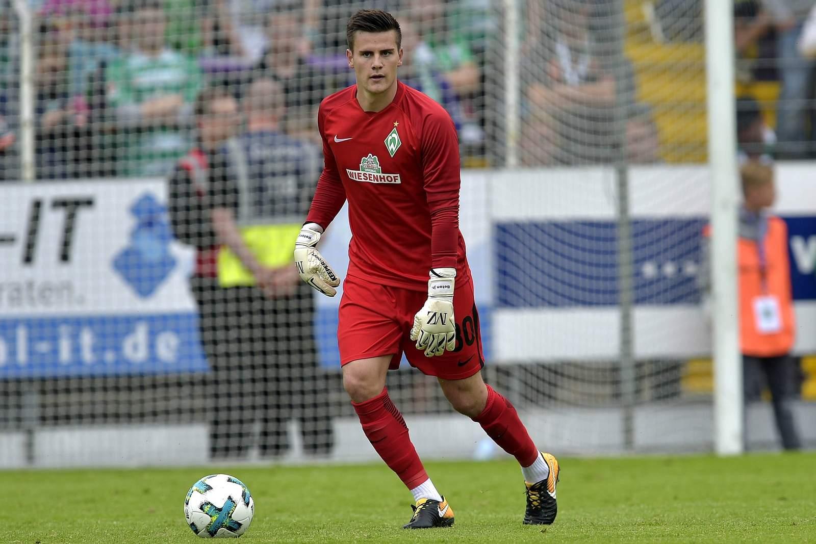 Michael Zetterer von der U23 von Werder Bremen