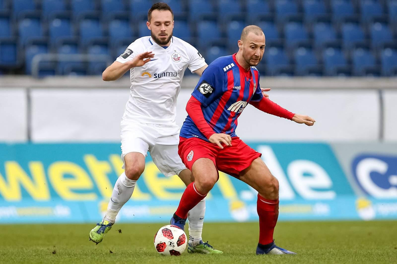 Tanju Öztürk im Spiel gegen Hansa Rostock