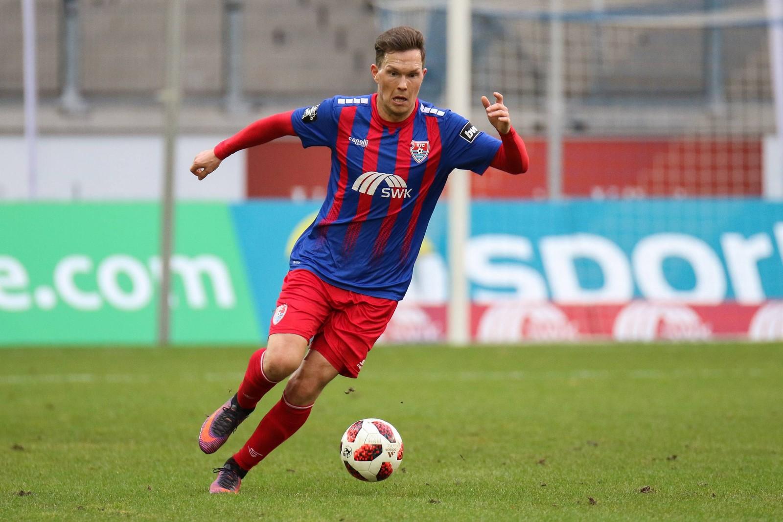 Robert Müller lief nur zwei Mal für Uerdingen in der 3. Liga auf.
